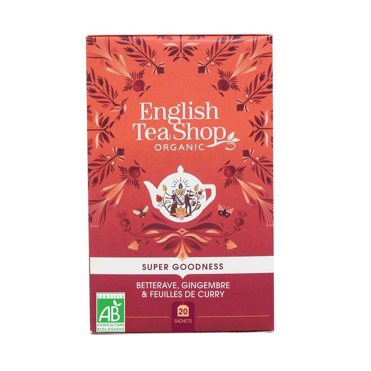 Infusion betterave, gingembre et feuilles de curry - 20 sachets 675761