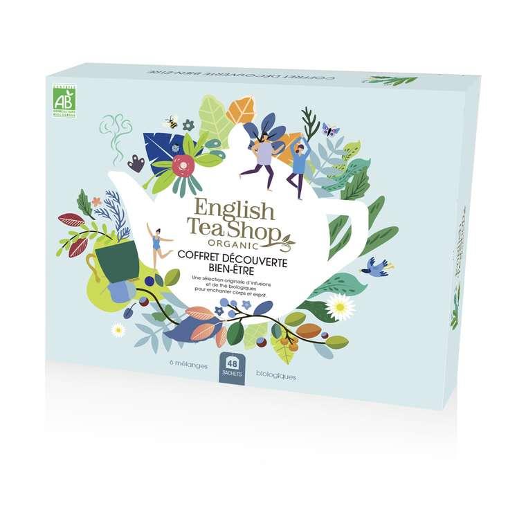 Coffret Découverte Bien-être d'infusions et de thé 48 sachets 72 g 675776