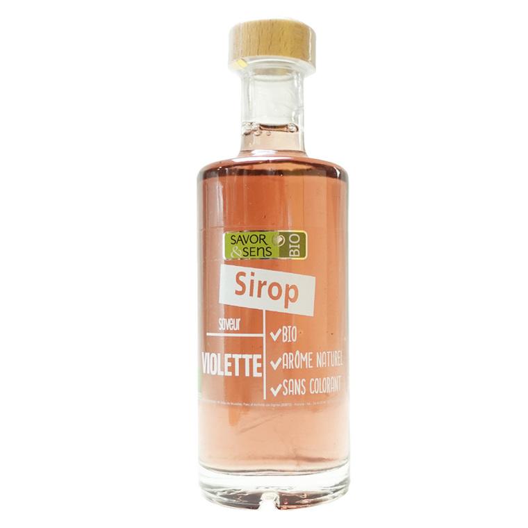 Sirop de violette bio - bouteille de 25 cl 675777