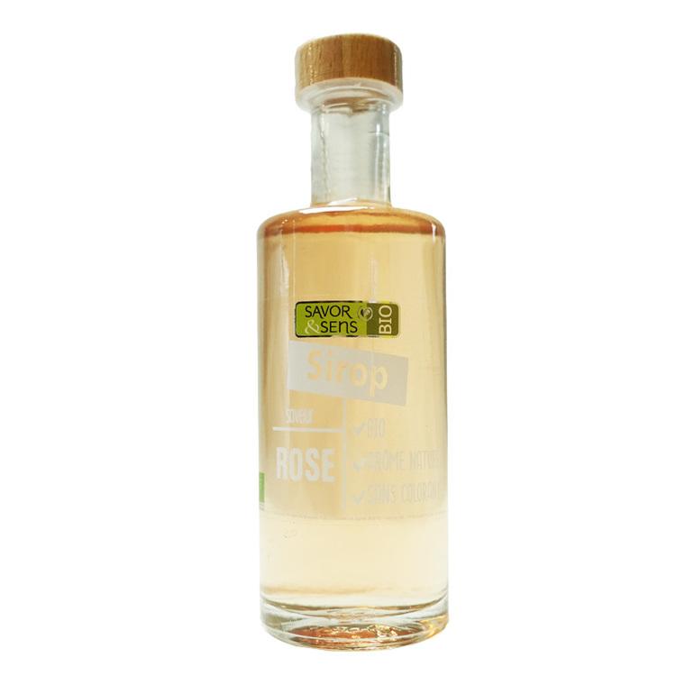 Sirop de rose bio - bouteille de 25 cl 675782