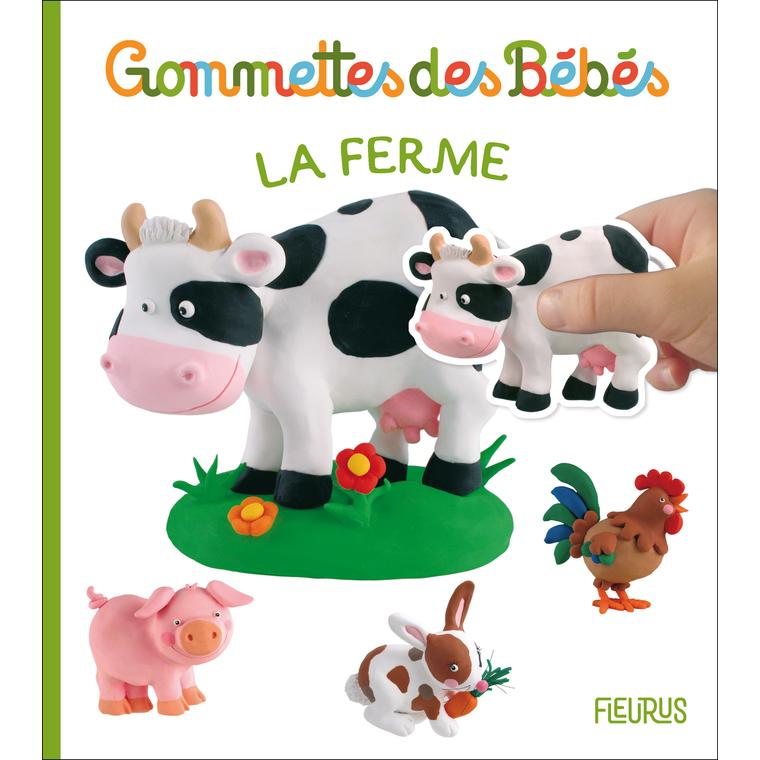 Gommettes des bébés – la ferme aux éditions Fleurus 676048