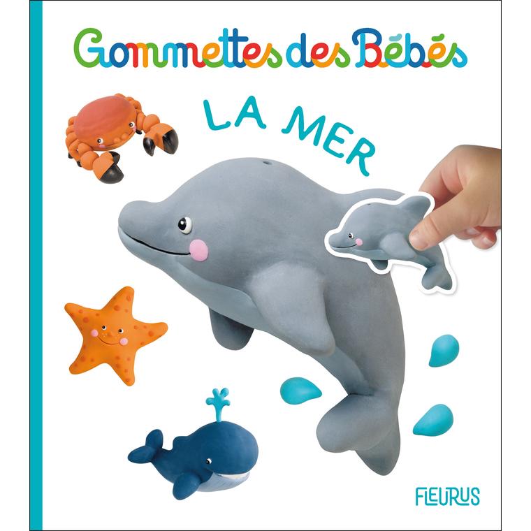 Gommettes des bébés – la mer aux éditions Fleurus 676049
