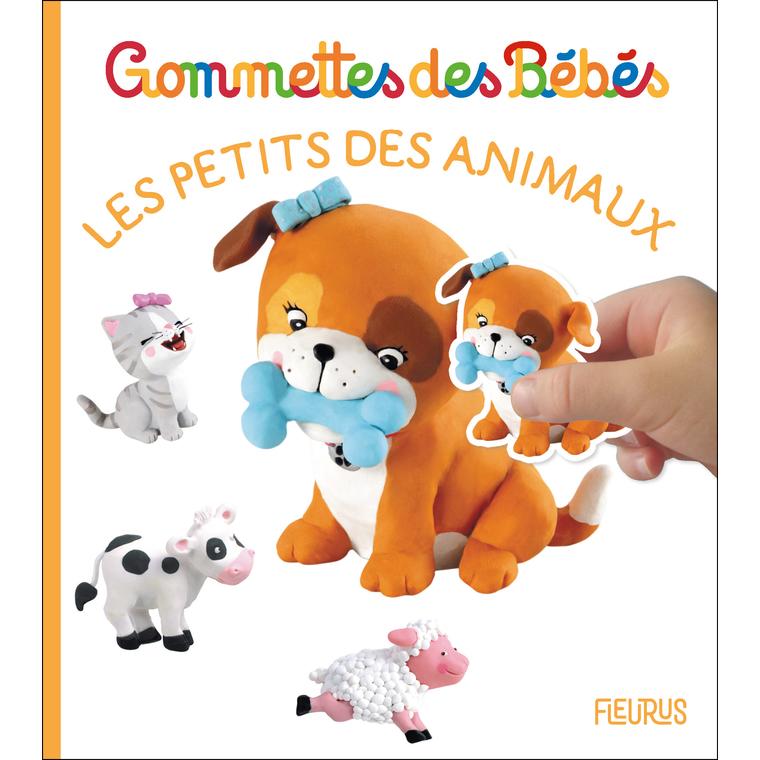Gommettes des bébés – les petits des animaux aux éditions Fleurus 676058
