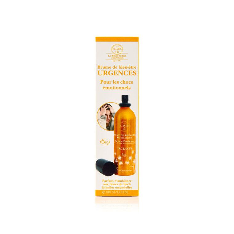 Brume de bien-être Urgences Vaporisateur 100 ml orange 676160