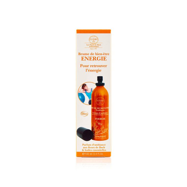 Brume de bien-être Énergie Vaporisateur 100 ml orange 676162