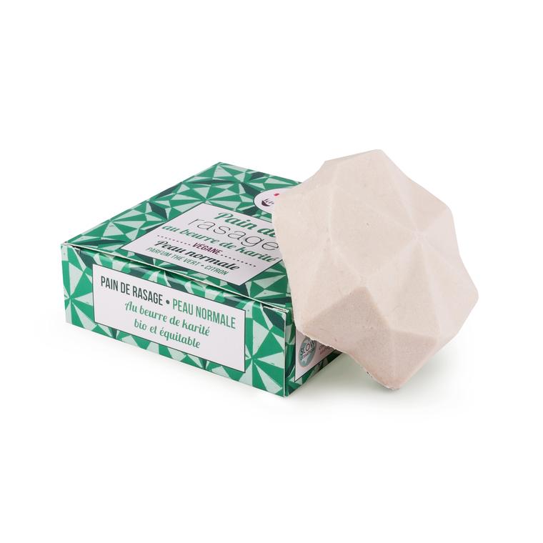 Pain de rasage au thé vert et citron en vrac 676253