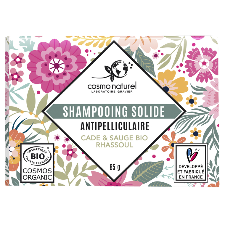 Shampoing solide Antipelliculaire  Étui 85 g rose 676682