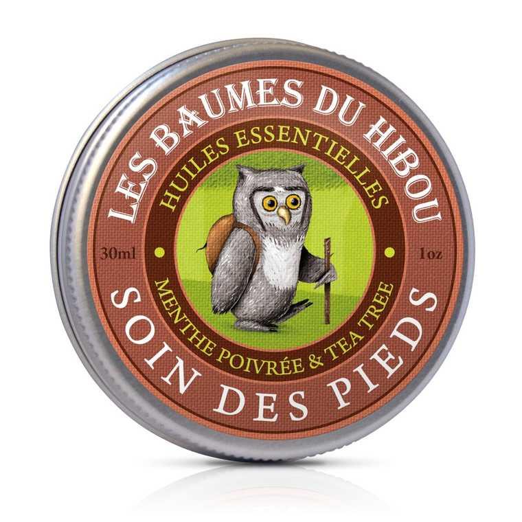 Baume Soin des Pieds biologique Boîte 30 ml marron 676698