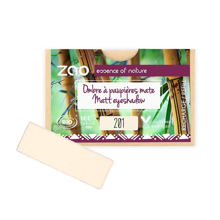 Recharge Ombre à paupières rectangle 201 Ivoire 1 g blanc 677065
