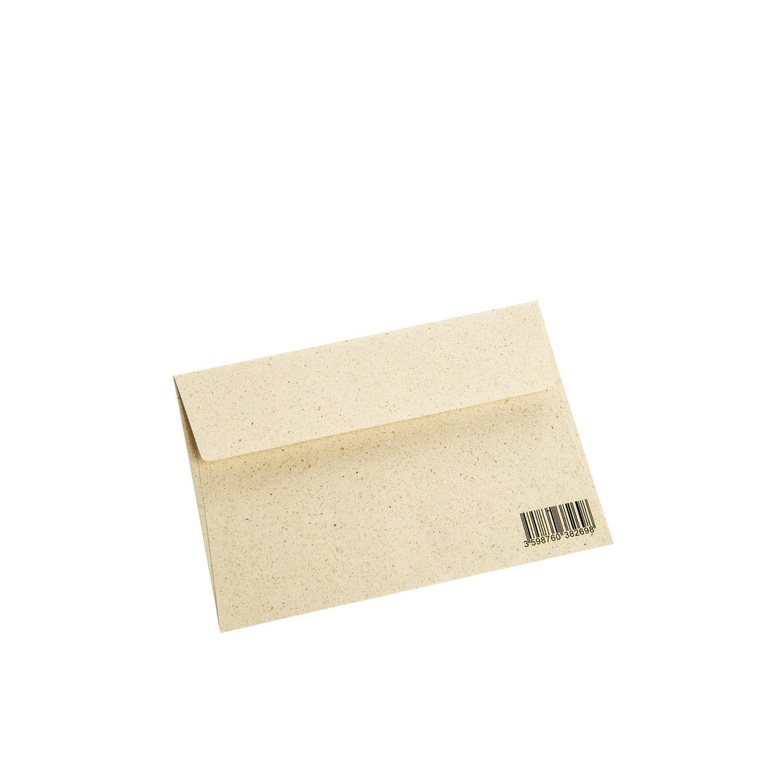 Enveloppe botanic® en papier à base d'herbe 677171