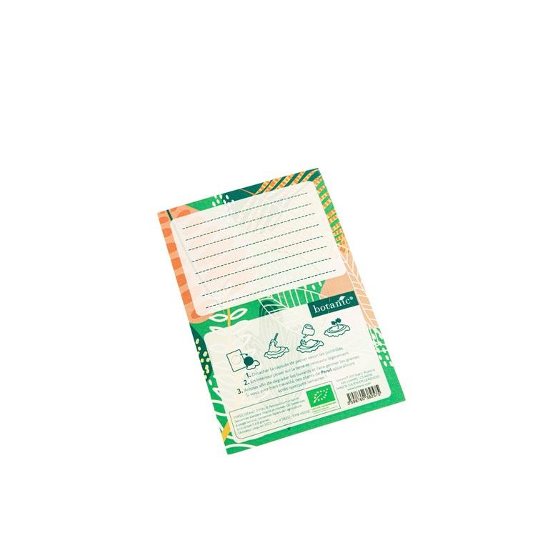 Carte à planter botanic® - graines de persil bio 677172