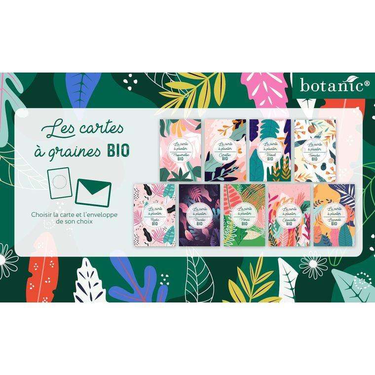 Carte à planter botanic® - graines de carotte bio 677178