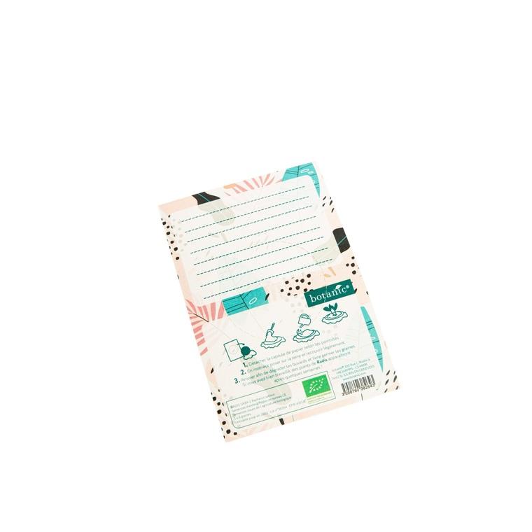 Carte à planter botanic® - graines de radis bio 677179