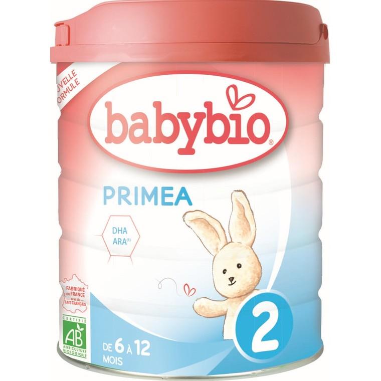 BABYBIO Primea 2 dès 6 mois – 800 gr 677275