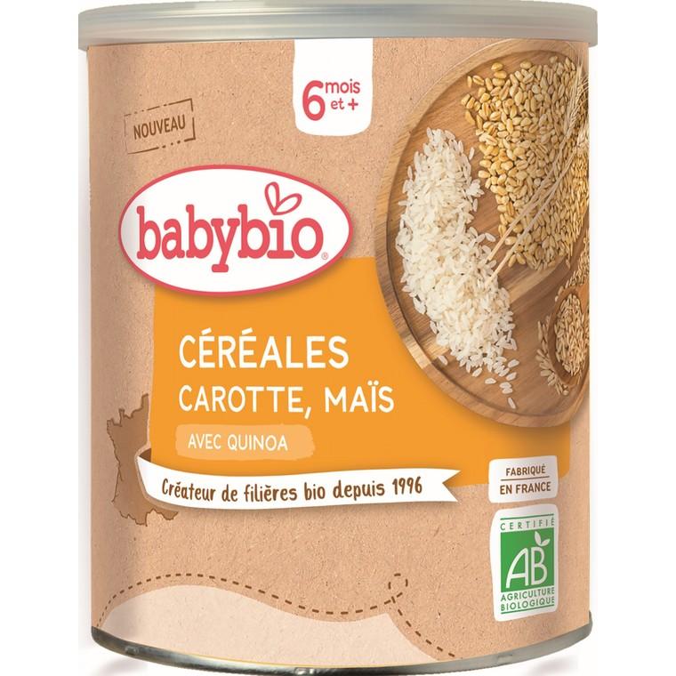Céréales Carotte Maïs – 220 gr 677283