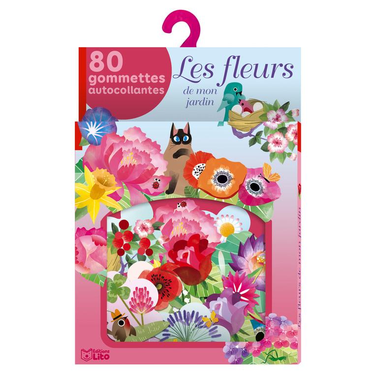 Mes gommettes Lito – les fleurs de mon jardin 677308