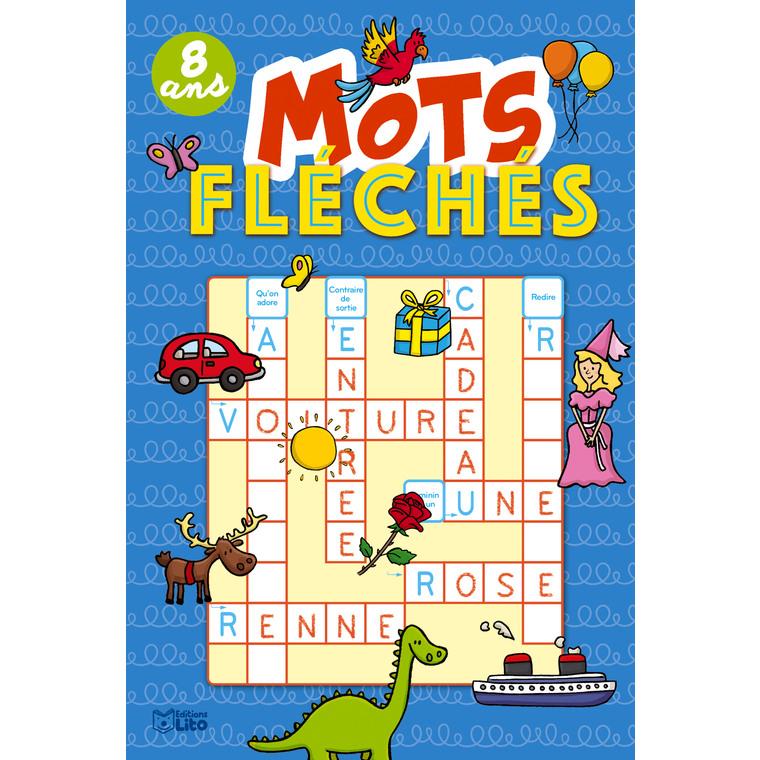 Super bloc jeux – Mots fléchés dès 8 ans aux éditions Lito 677312