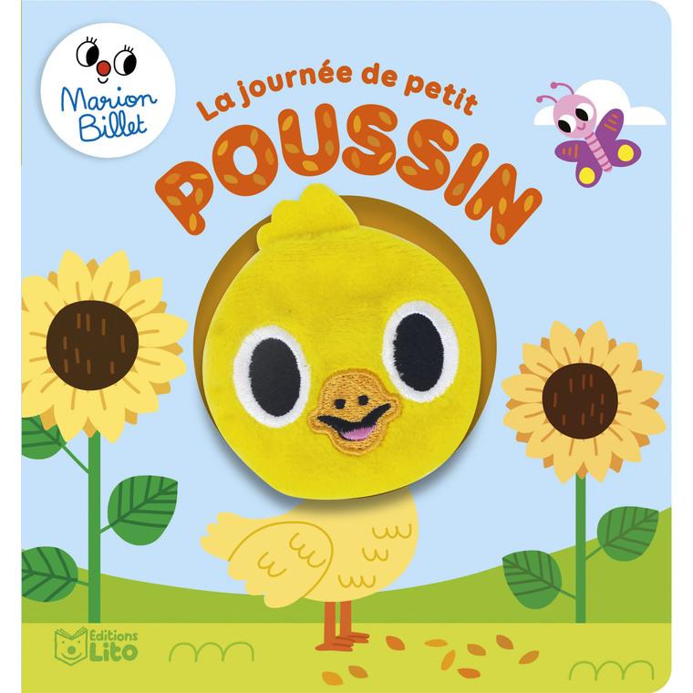 Livre marionnette – La journée de petit poussin aux éditions Lito 677327