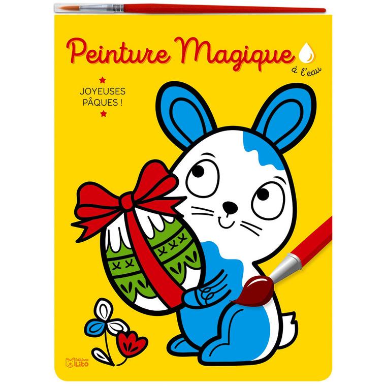 Peinture magique à l'eau – Joyeuses Pâques aux éditions Lito 677332