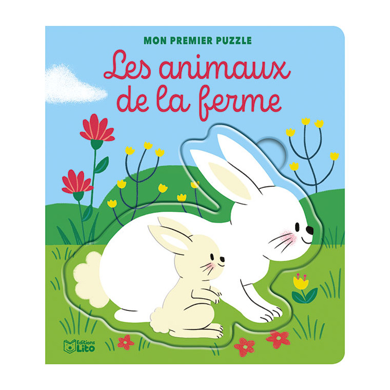 Mon premier puzzle – Les animaux de la ferme aux éditions Lito 677353