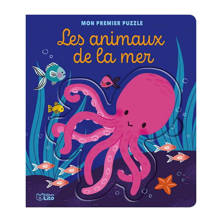 Mon premier puzzle – Les animaux de la mer aux éditions Lito 677355