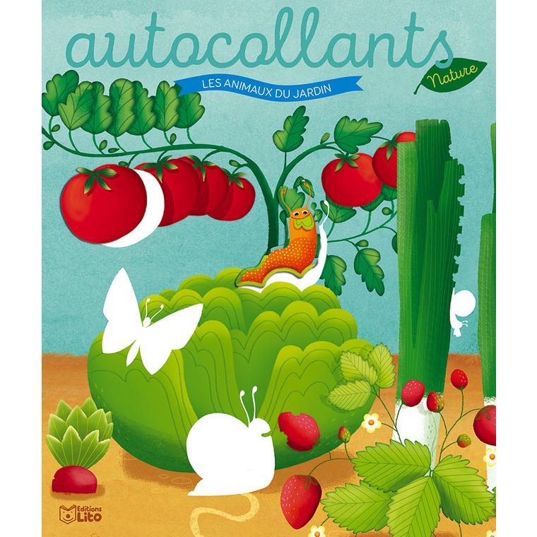 Les autocollants nature – Les animaux du jardin aux éditions Lito 677359