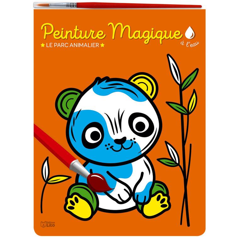 Peinture magique à l'eau – Le parc animalier aux éditions Lito 677368