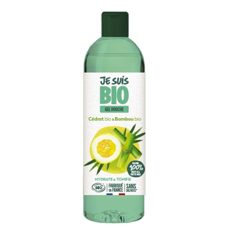 Crème douche Cédrat et Bambou bio flacon 250 ml vert 677573