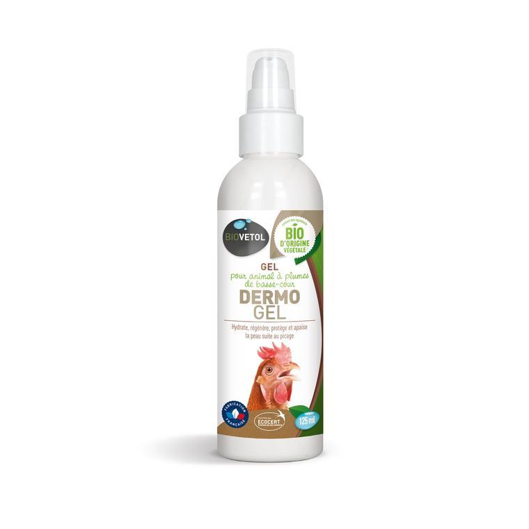 Dermo'gel pour volailles en flacon de 125 ml 677762