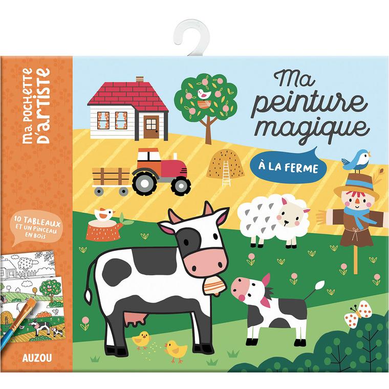 A la ferme - ma peinture magique aux éditions Auzou 677763