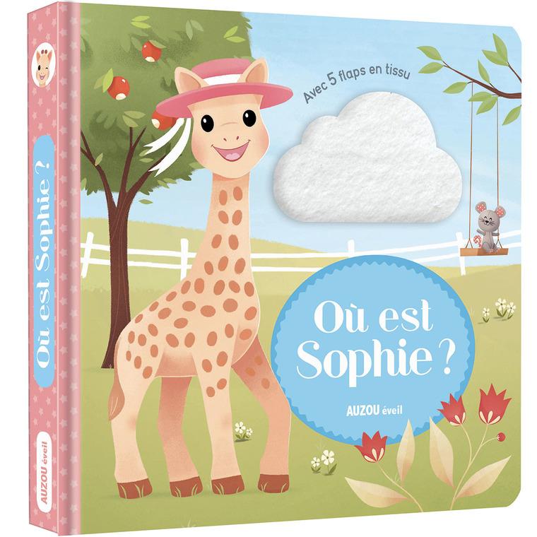 Où est Sophie ? - Sophie la girafe aux éditions Auzou 677838