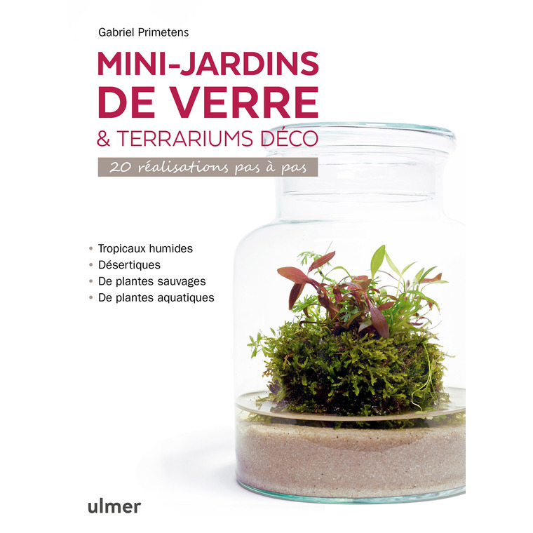 Mini-jardins de verre et terrariums déco aux éditions Ulmer 678051
