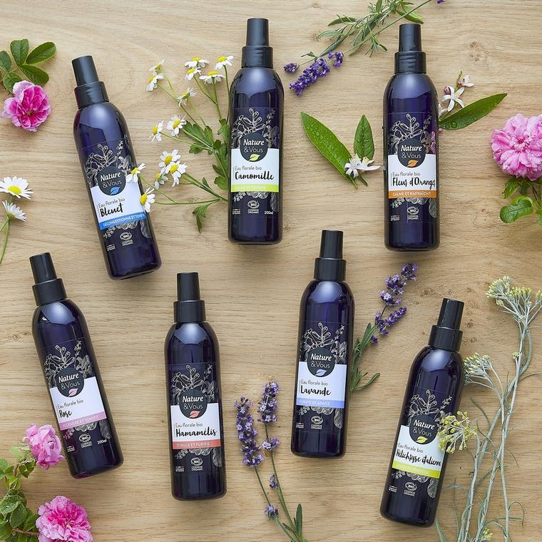 Eau florale bio Camomille Nature & Vous 200 ml 678679