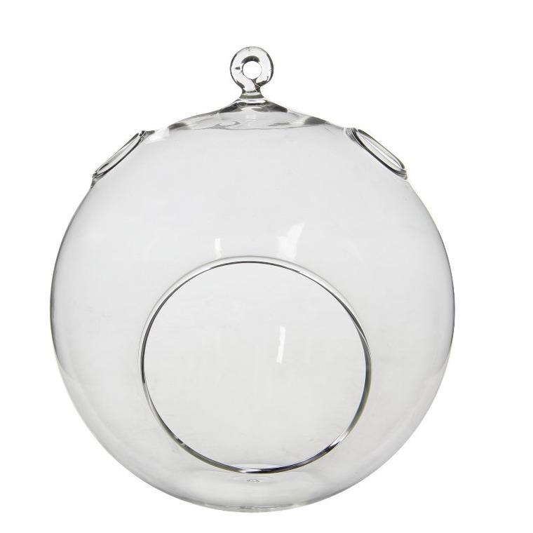 Sphère décorative en verre H 20 x Ø 20 cm 680299