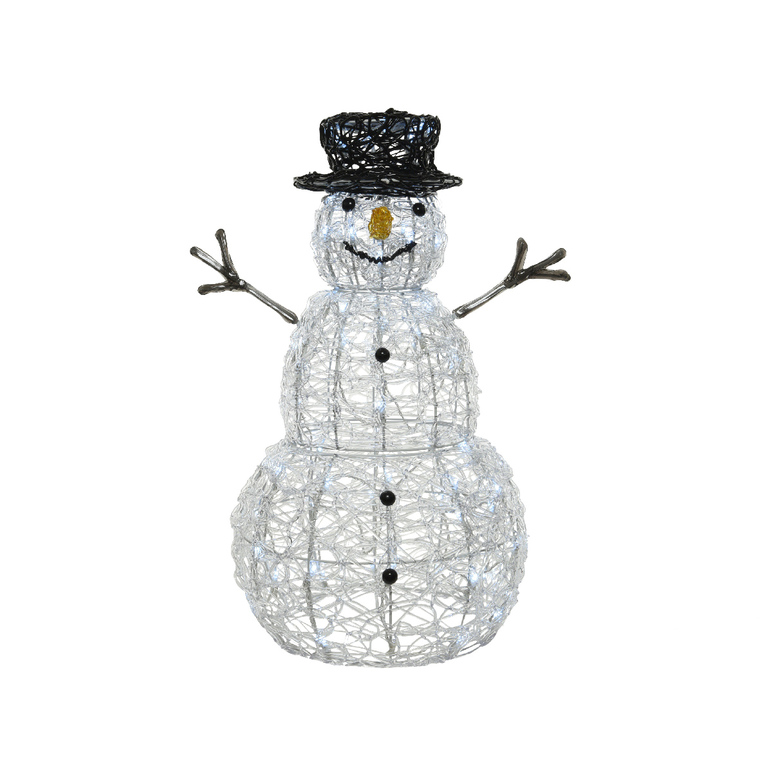 Bonhomme de neige LED extérieur – 60 cm 681104