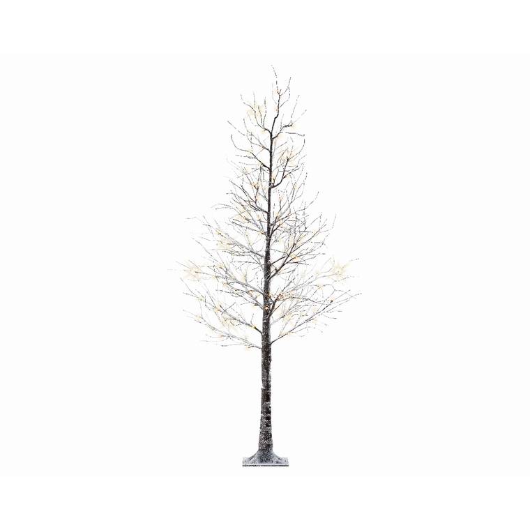 Arbre de Noël Marron avec LED – 240 cm 681121