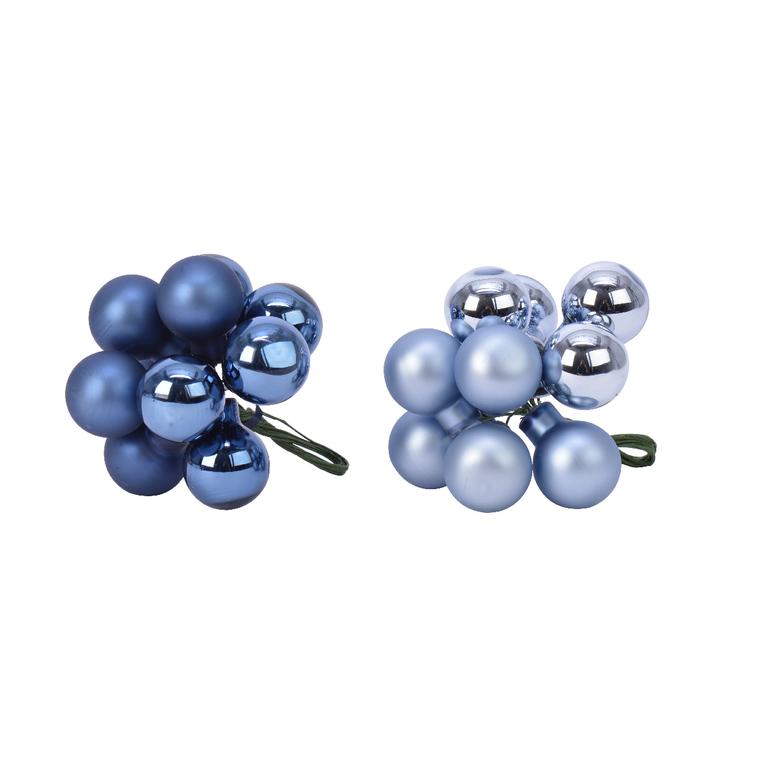 Grappe de Mini Boules Verre sur Pique Ø2 cm 681440