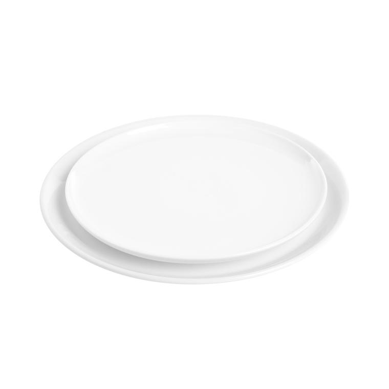 Assiette plate Itit en grès blanc Ø 25 cm 683684