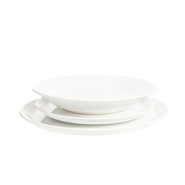 Assiette calotte Itit en grès blanc Ø 21 x 3,5 cm 683689