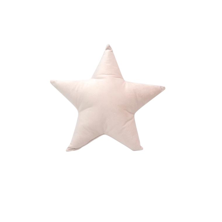Coussin Étoile Velours Polyester 20x20 cm 683834