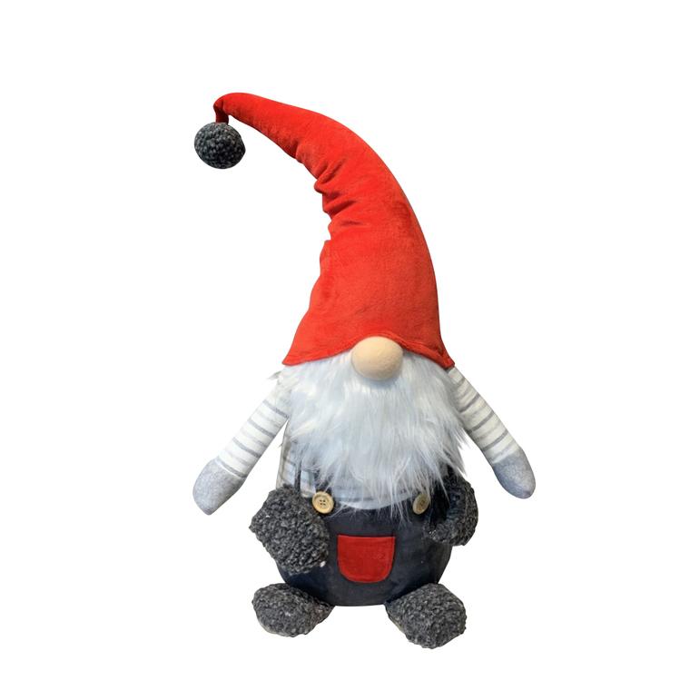 Père Noël Traditionnel à gros nez - modèle intermédiaire 684089