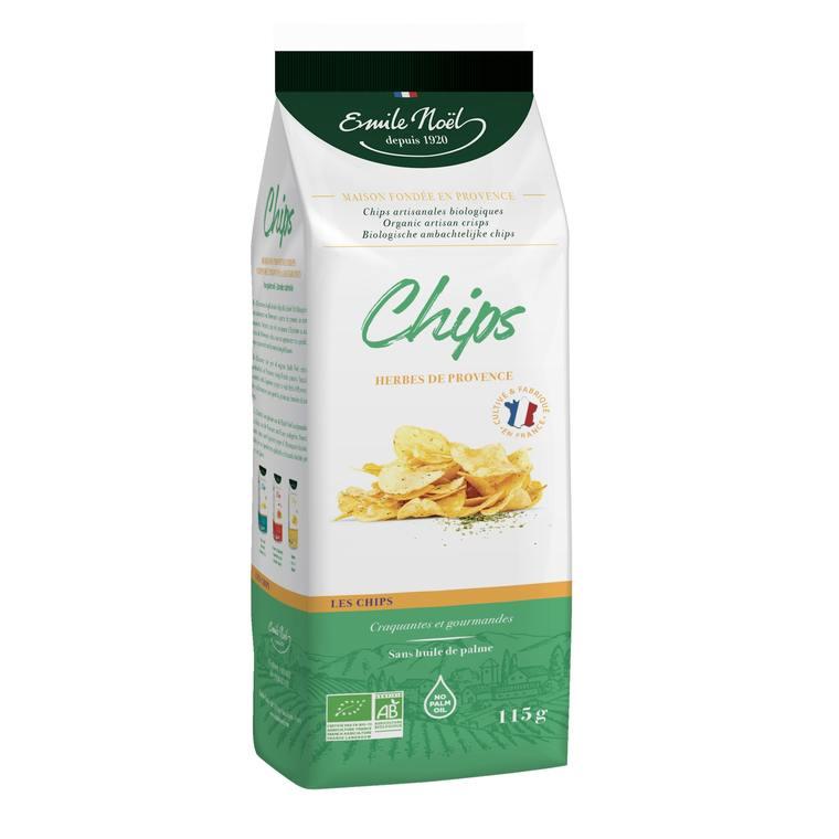 Chips herbes de Provence bio en sachet de 115 g 684320