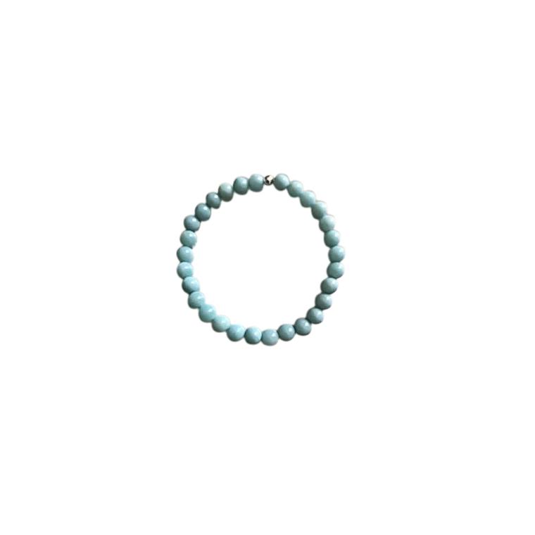 Bracelet amazonite unie 4mm 685047