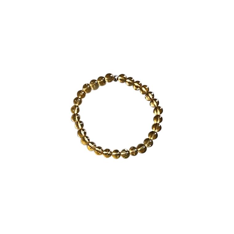 Bracelet citrine 4mm 685059