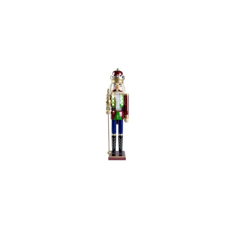 Casse-Noisette à poser Bois Led 7/ H61 cm Multicolore Coin des Enfants 685835