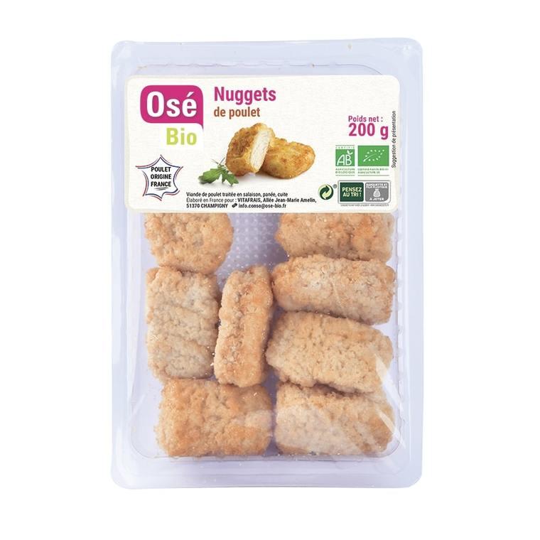 Nuggets de poulet - 200 gr 686789