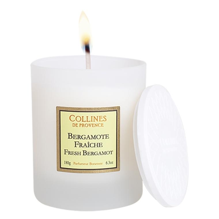 Bougie parfumée bergamote fraîche 691197