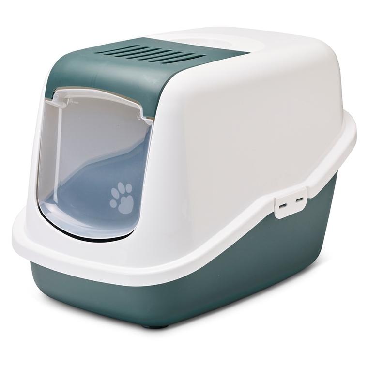 Maison de toilette pour chat Nestor Nordic verte 691778