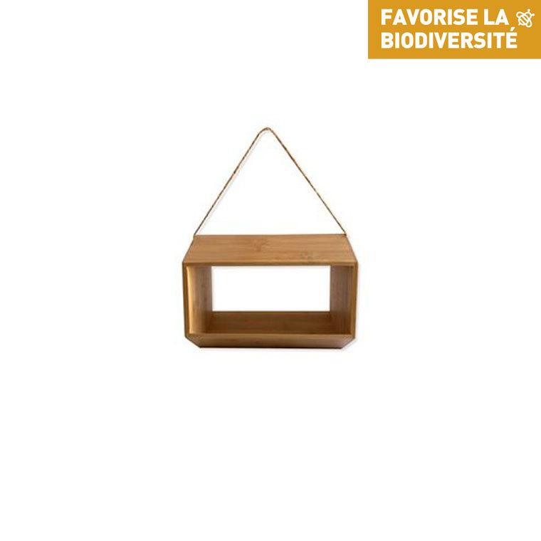 Mangeoire bhalt en bois 25 x 15 x 19 cm 695032