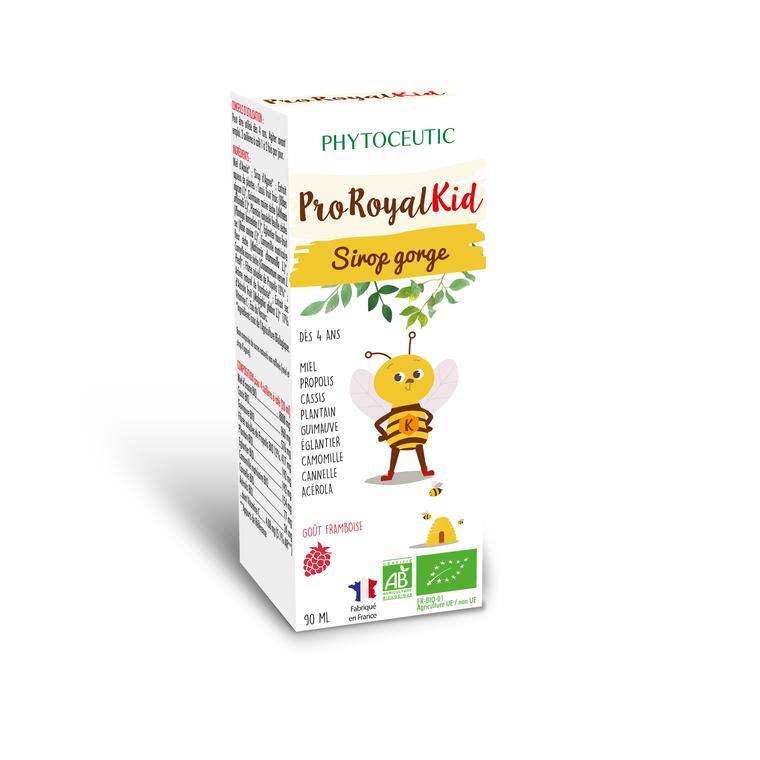 Sirop pour la gorge pour enfants Kid au miel bio 90 ml 695210